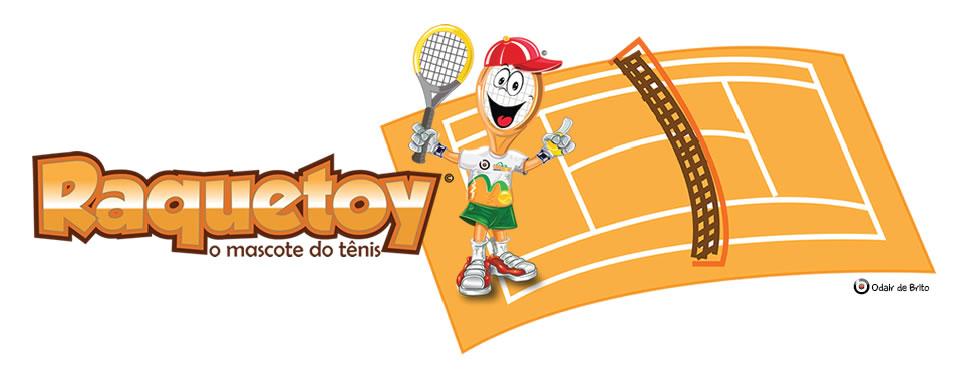 Raquetoy o Mascote do Tênis
